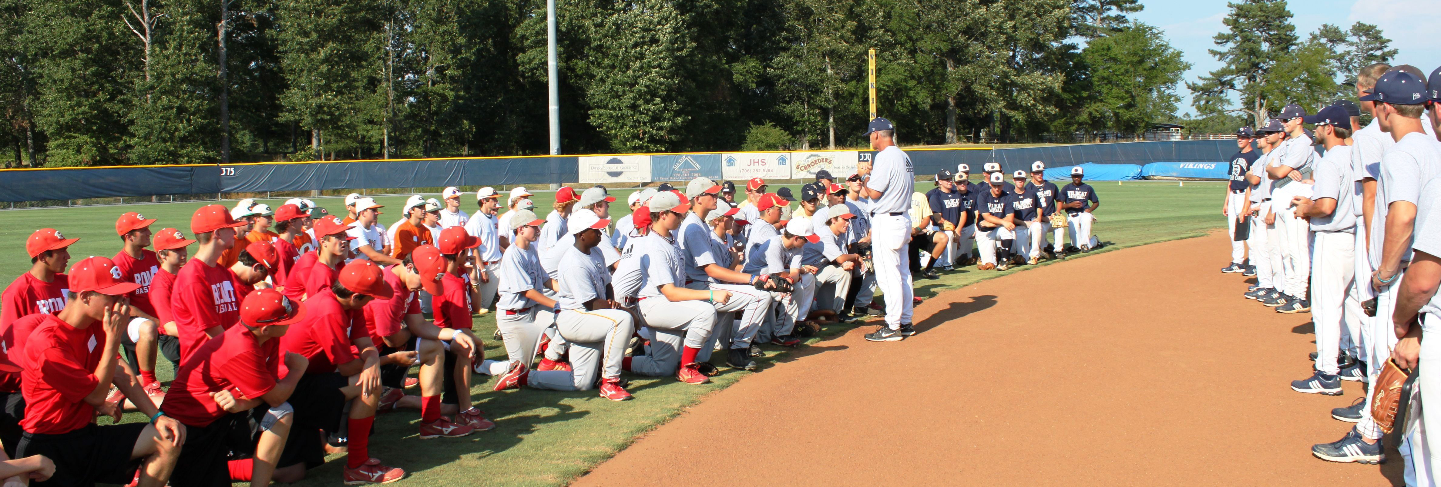 David Beasley Baseball Camps At Berry College Mt Berry Georgia David Beasley Baseball Camps